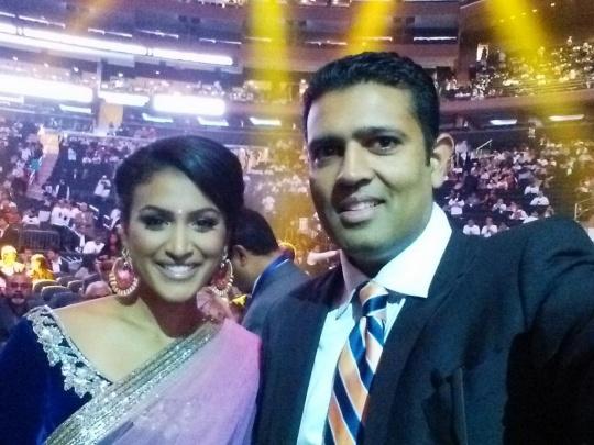 Nina Davuluri and Hari Sreenivasan