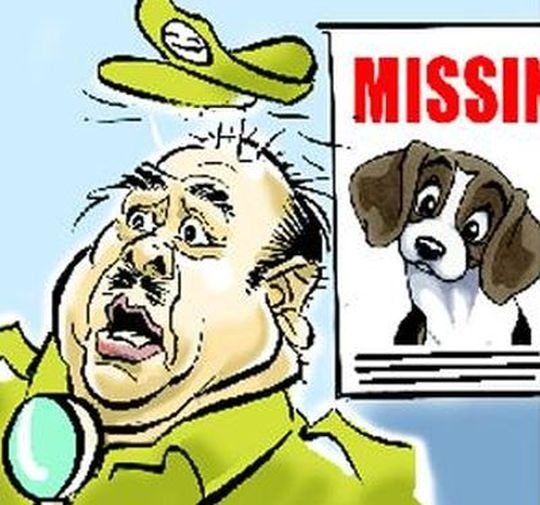 Police tracing minister's missing pup