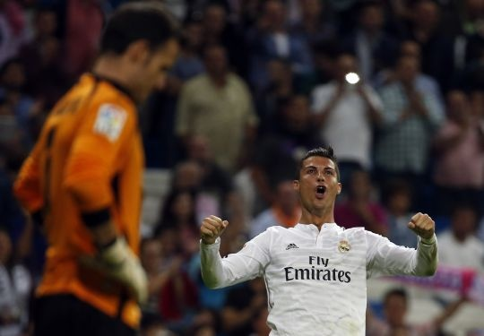 Cristiano Ronaldo Hits Four As Madrid Ease Past Elche