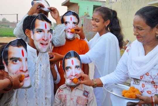 Rahul Gandhi birthday celebrations