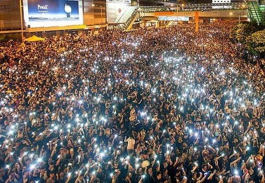 Hong Kong street protest