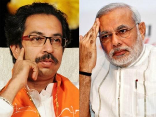 Uddhav Thackeray-Narendra Modi