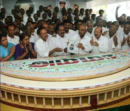 Jayalalitha cake