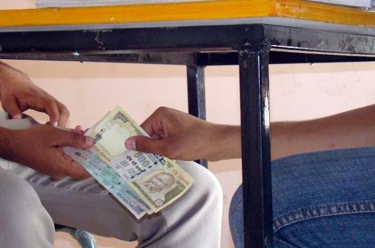 Bribe in India