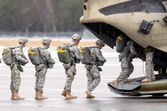 US Sending 200 Troops for Drills in Ukraine