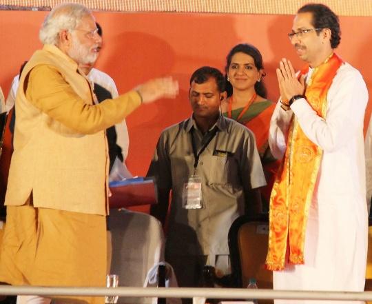 Narendra Modi, Uddhav Thackeray