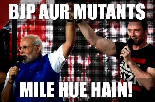 Modi and Hugh Jackman