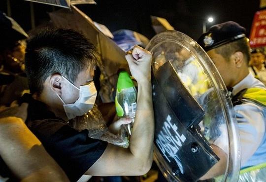Student protests in Hong Kong