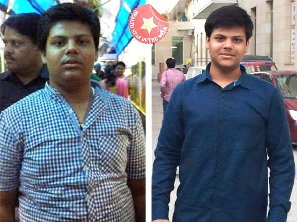 Health Star Of The Week: Prateek's Baby Steps Towards Weight Loss