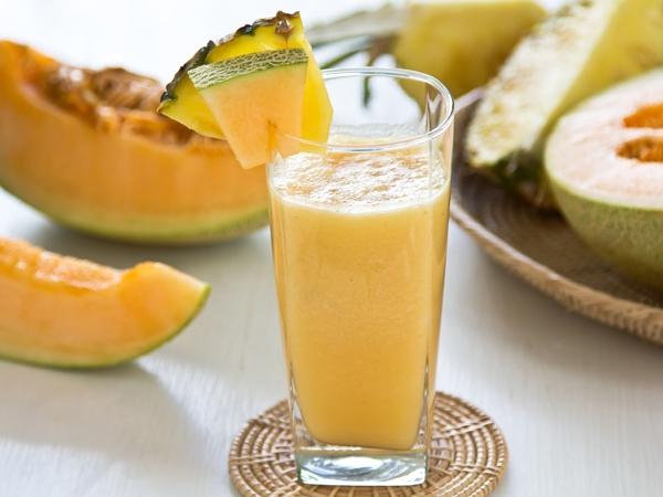 Healthy Summer Drink: Melon Punch