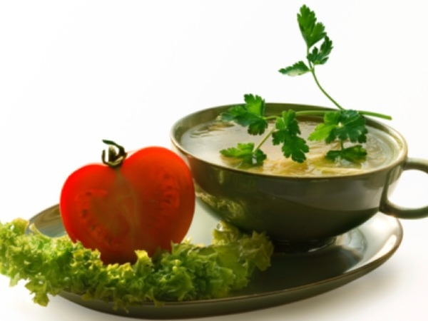 Healthy Soups: Chinese Clear Vegetable Soup