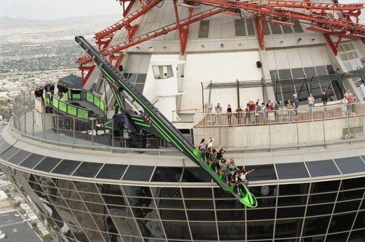 Stratosphere X-Scream Roller Coaster