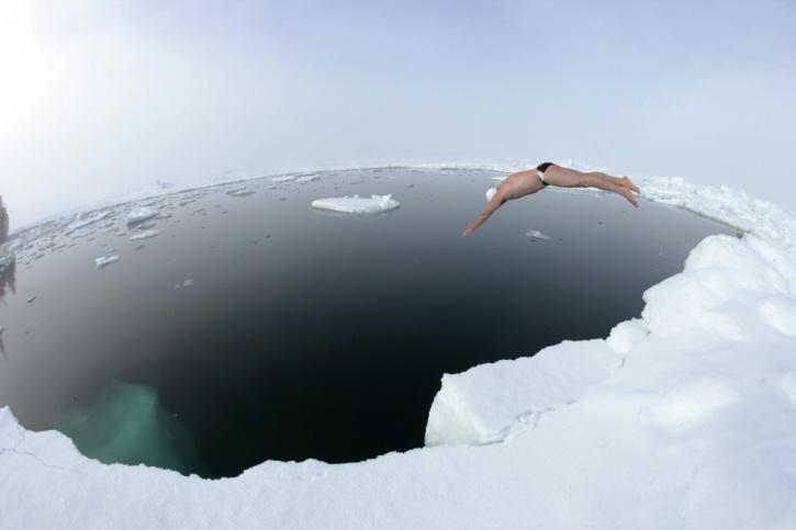 Ice Swimming