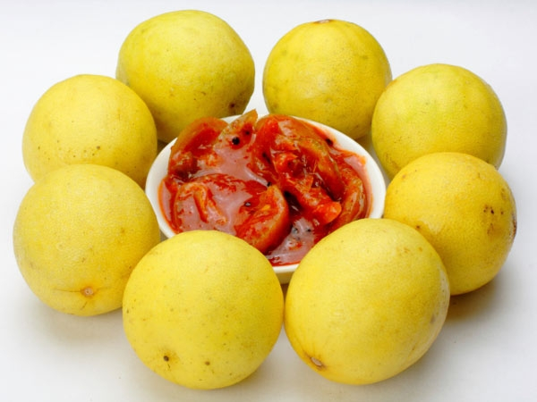 Summer Recipe: Instant Lemon Pickle