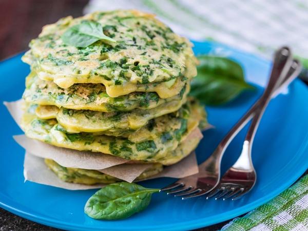 Low-Calorie Recipe: Vegetable Oats Pancakes