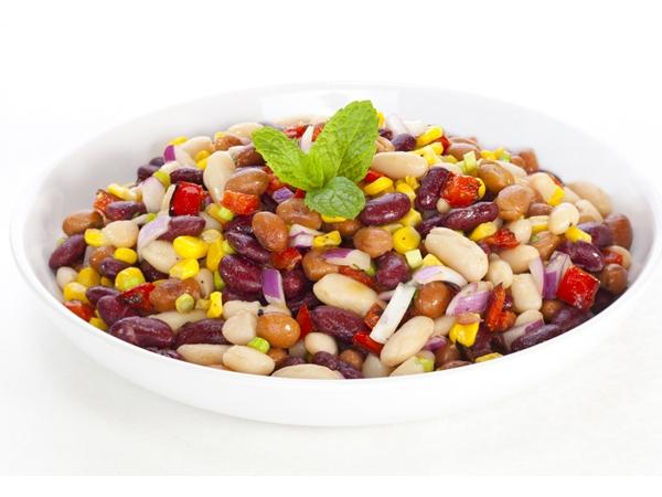 Healthy Salad Recipe: Bean And Capsicum Salad
