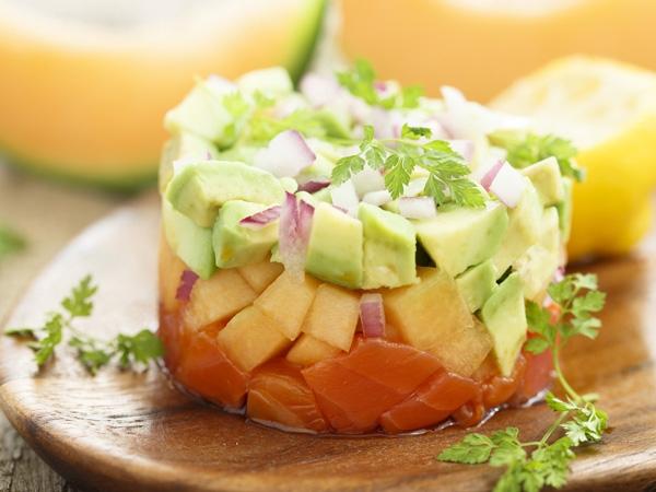 Healthy Recipe: Vegetable Tartare With Garlic Mayo