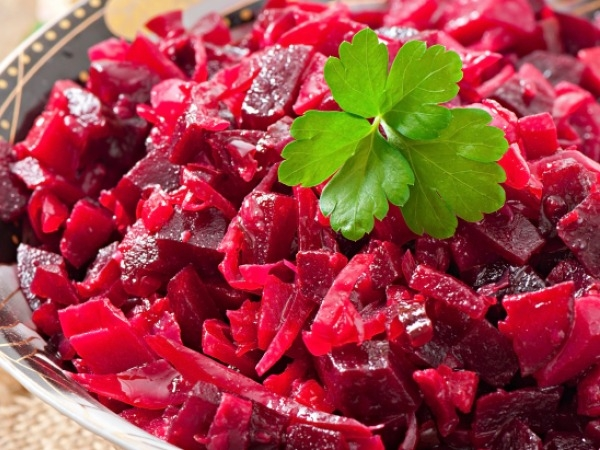 Beetroot And Dill Salad (Low Cholesterol Recipe)