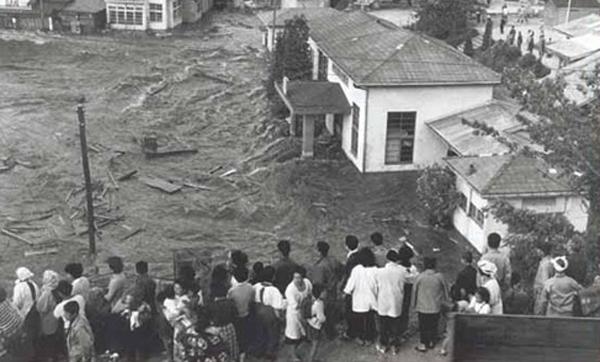Tsunami in Banda Sea, Indonesia (1938)