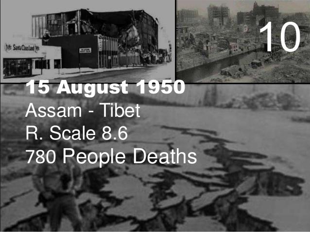 Tibet earthquake