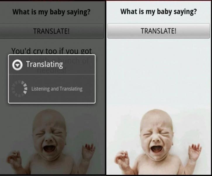 Baby translator