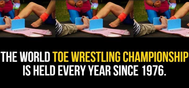 Toe Wrestling Championship