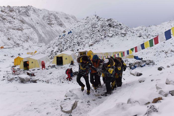 AFP everest base camp