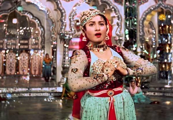Anarkali in Mughal e azam