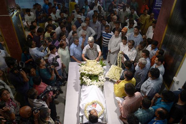 Ankit Keshri funeral