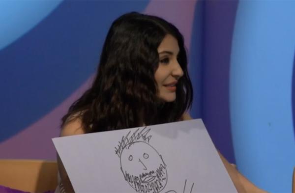Anushka draws Virat Kohli