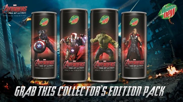 Avengers Mountain Dew