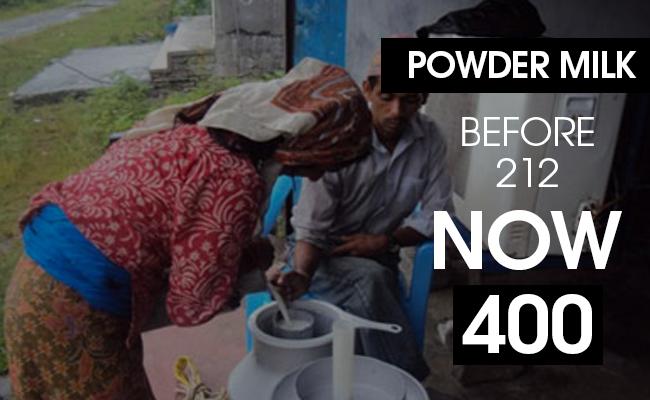 Milk prices soar in Nepal