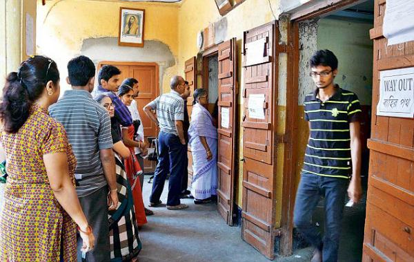voting in kolkata