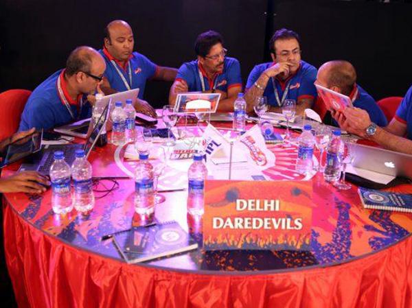 Delhi Daredevils at IPL auctions