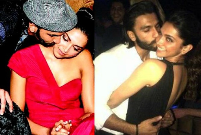 Deepika and Ranveer Singh Dubai Party Pictures