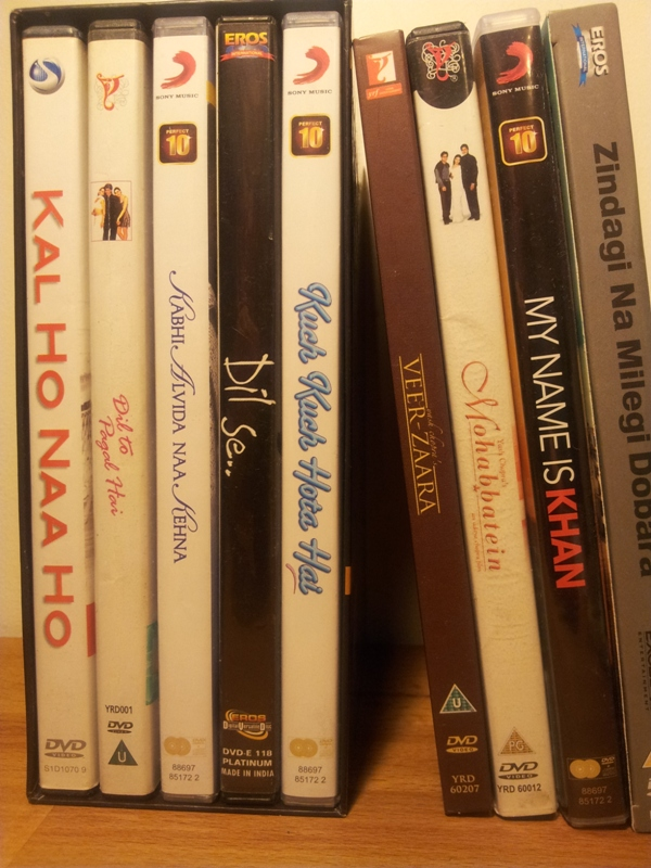 Bollywood DVDs