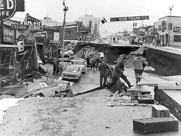 1952 earthquake in Kamchatka