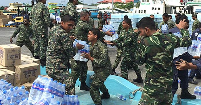 water maldives