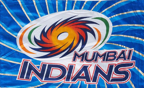 Mumbai Indians flag