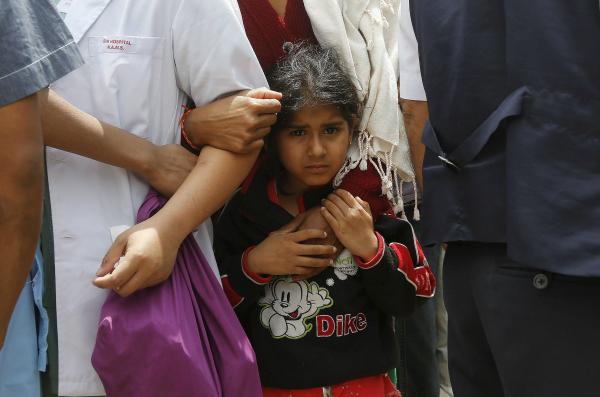 Nepal quake children in need