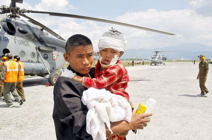 nepal relief india