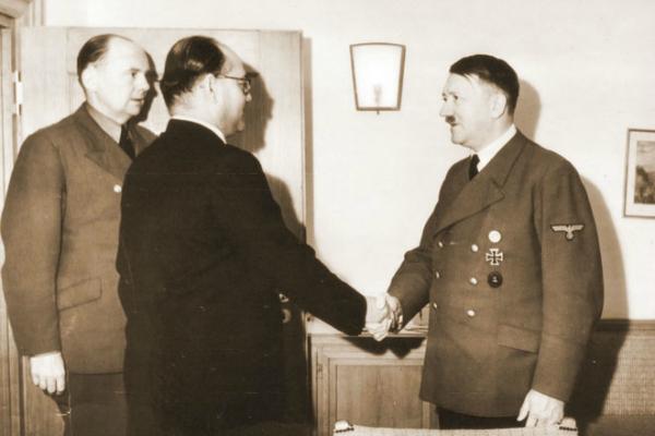 Netaji-Subhas-Chandra-Bose meet Adolf-Hitler in Germany