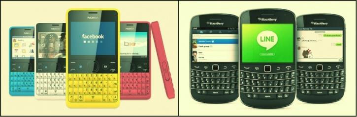 Nokia, Blackberry