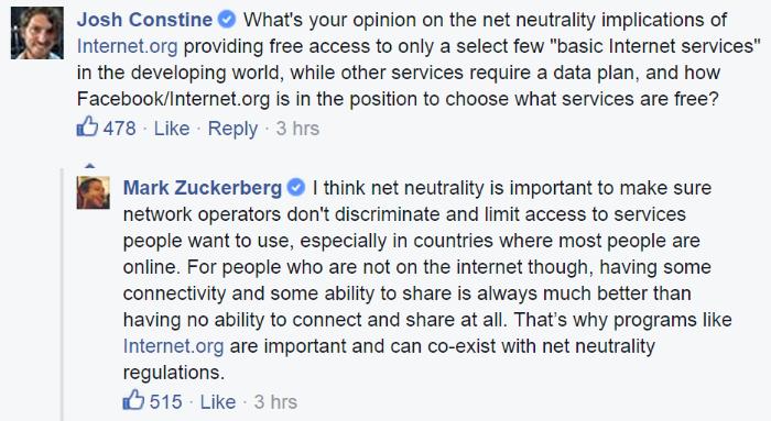 zuckerberg net neutrality india