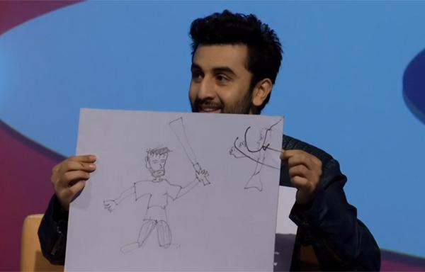 Ranbir draws Kohli
