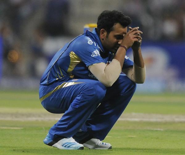 Rohit Sharma sad