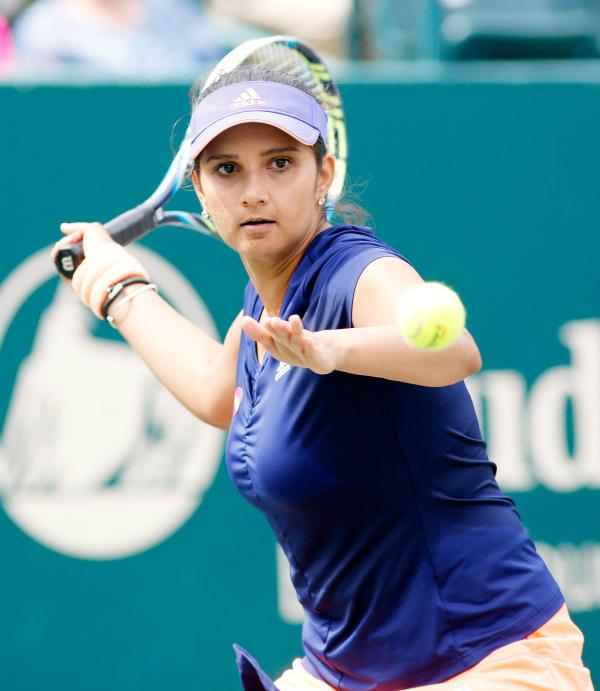 Sania Mirza at the Family Circle Cup