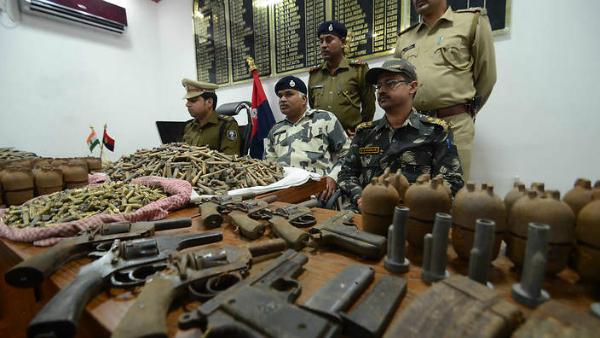 naxal weapons