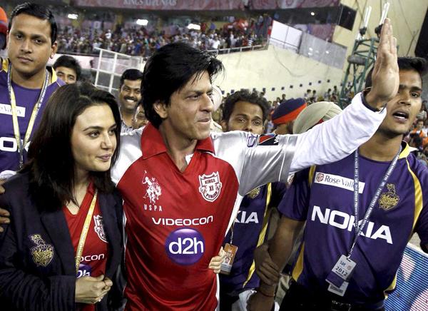 SRK Preity Zinta