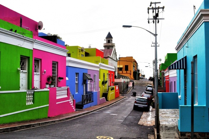 The Bo-Kaap, Cape Town, South Africa